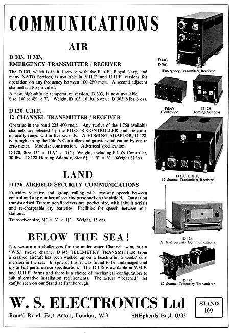 W.S.Electronics Transmitter Receivers