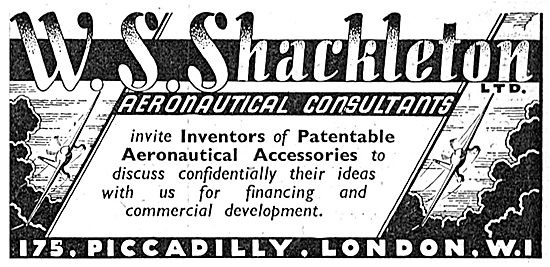 W.S.Shackleton Aeronautical Consultants & Aircraft Sales