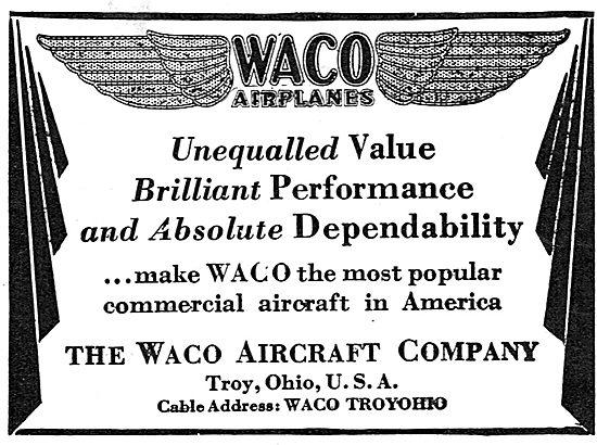 Waco Airplanes - Troy Ohio