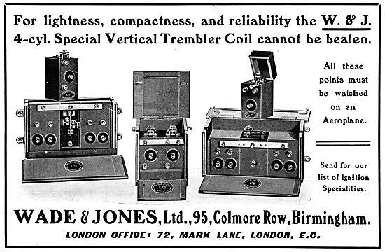 Wade & Jones. Vertical Trembler Coil