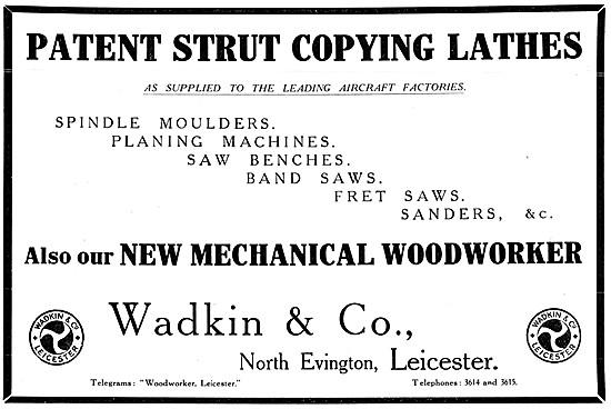 Wadkin Strut Copying Lathe