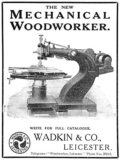 Wadkin Mechanical Woodworker