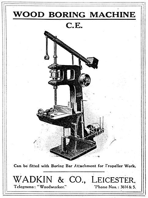 Wadkin Wood Boring Machine C.E. 1916