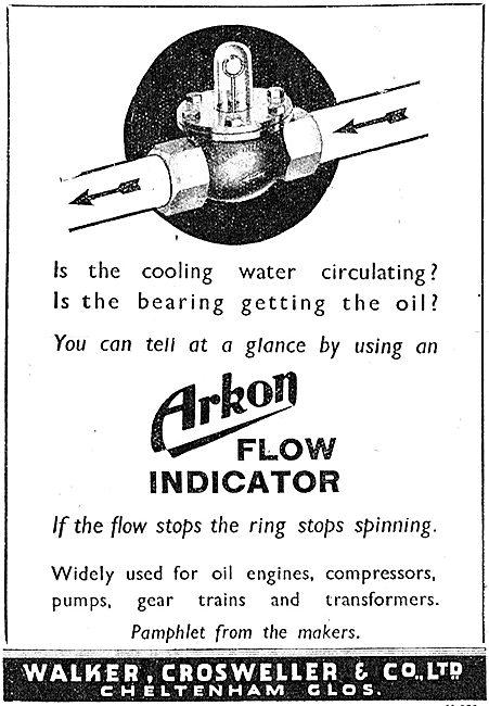 Walker Crossweller Arkon Flow Indicators