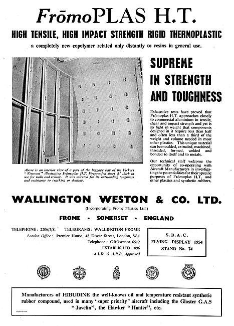 Wallington Weston FromoPlas H.T Thermoplastic