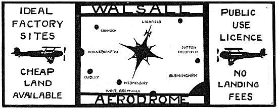 Walsall Aerodrome
