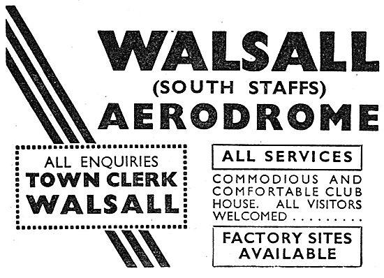 Walsall Aerodrome Facilities