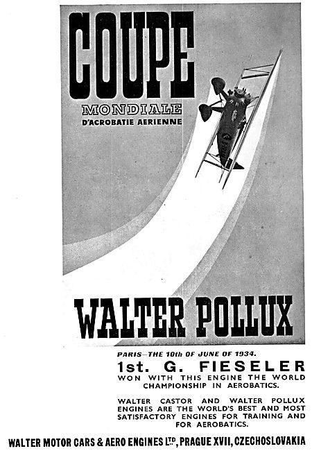 Walter Pollux Aero Engine