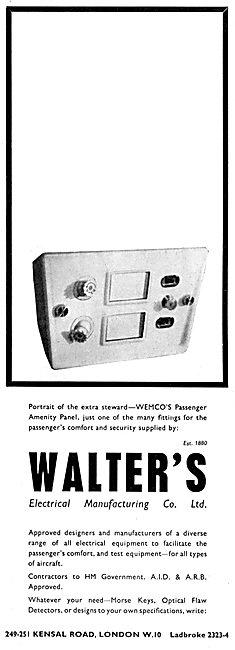 Walters Electrical - WEMCO Passenger Amenity Panels