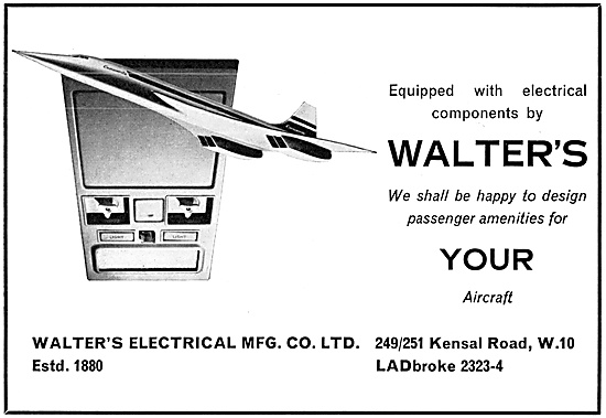 Walters Electrical  Aircraft Electrical Components
