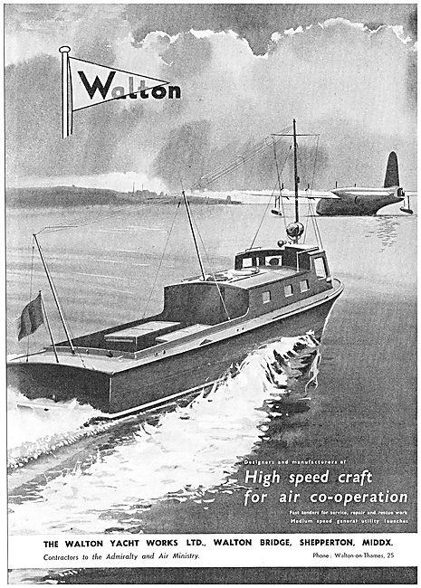 Walton High Speed Tenders And Launches