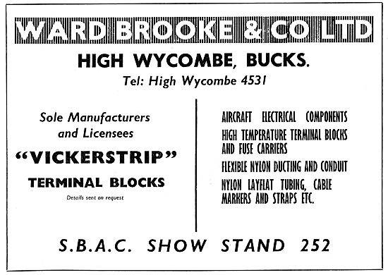 Ward Brooke - Aircraft Electrical Components