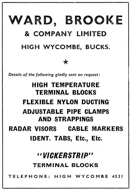 Ward Brooke - Electrical Parts - VICKERSTRIP Terminal Block