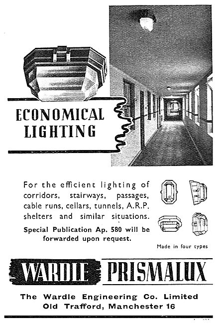 Wardle Prismalux Lighting For Corridors, Shelters & Stairways