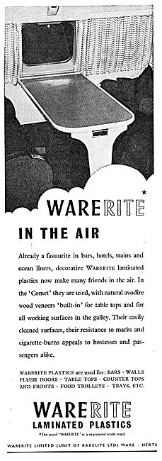 Warerite Laminated Plastics (Bakelite)