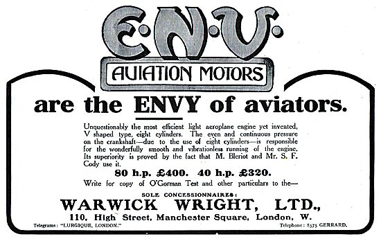 ENV Aviation Motors Are The Envy Of Aviators
