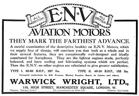 ENV Aviation Motors Mark The Farthest Advance