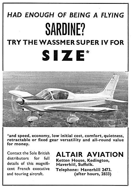 Wassmer Super IV