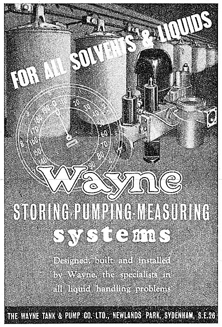Wayne Tank & Pump Co. Wayne Storage, Pumping & Measuring Systems