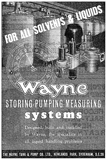 Wayne Fuel Storage, Metering & Dispensing Systems 1943