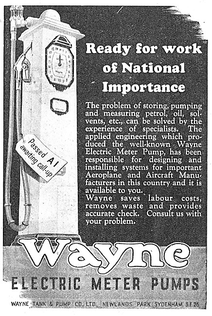 Wayne Electric Meter Pumps