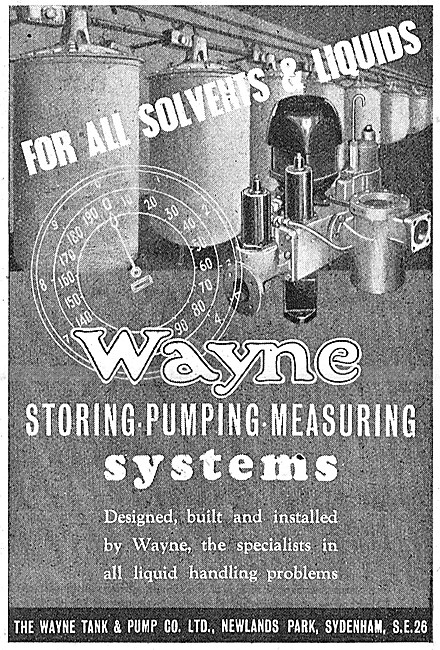 Wayne Fluid Storing, Pumping & Measuring Systems