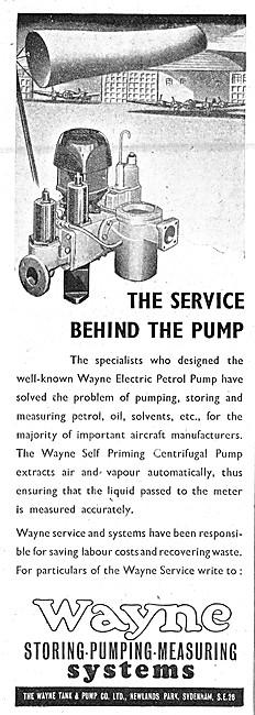 Wayne Fluid Storing, Pumping & Measuring Systems