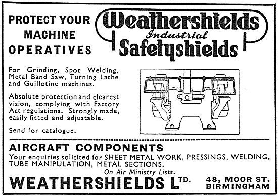 Weathershields Protectors For Machinery Operators
