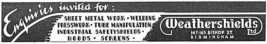 Weathershields - Sheet Metal Work - Industrial Safety Shields
