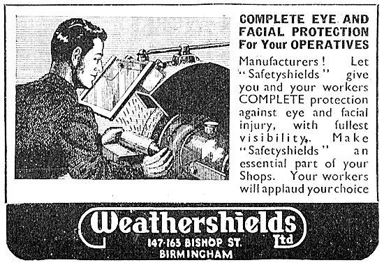 Weathershields Industrial Protective Eyewear & Shields 1943