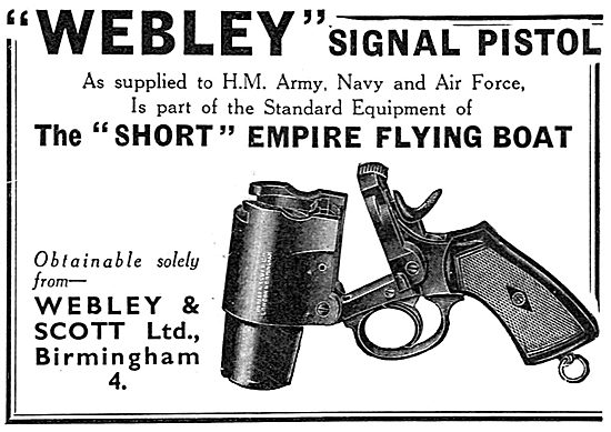 Webley & Scott - Webley Signal Pistol. Very Light
