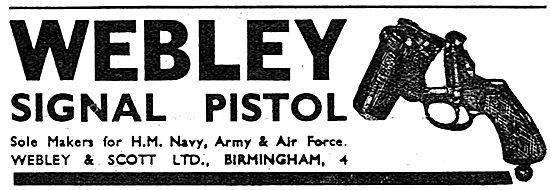 Webley & Scott Webley Signal Pistols 1939