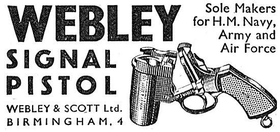 Webley & Scott Signal Pistols 1939