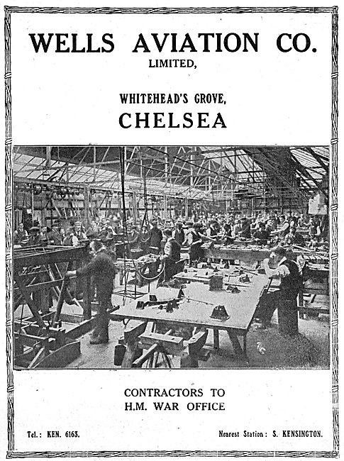 Wells Aviation. Chelsea
