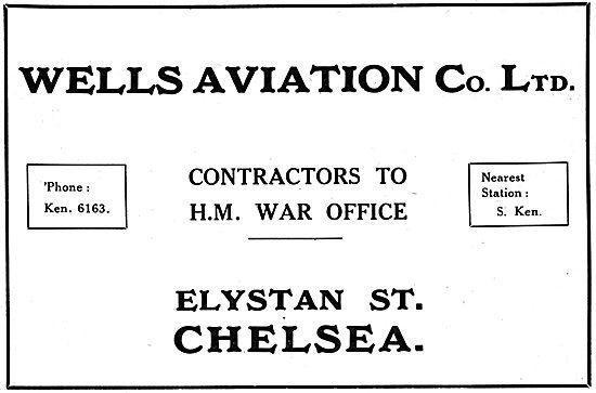 Wells Aviation Elystan St Chelsea.