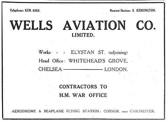 Wells Aviation 1916