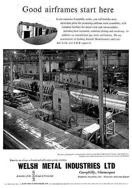 Welsh Metal Industries : Fabrications & Sub Assemblies
