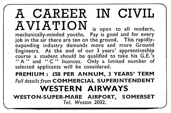 Western Airways - Ground Engineers Apprenticeship
