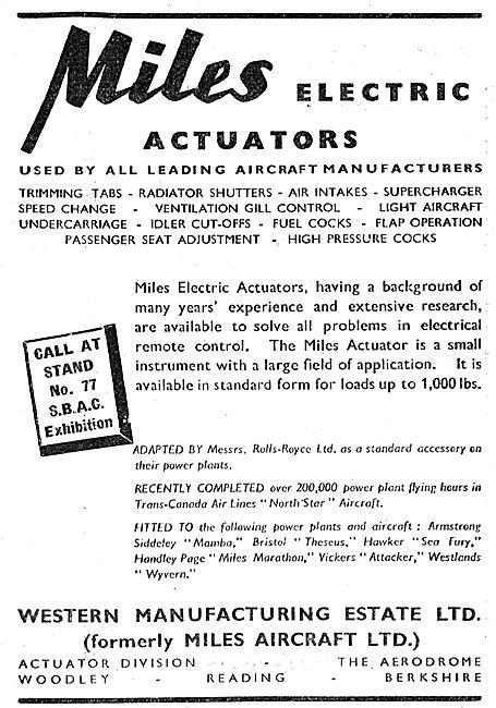 Miles Electric Actuators