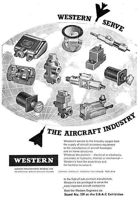 Western Mfg  - Electrical, Penumatic & Hydraulic Components