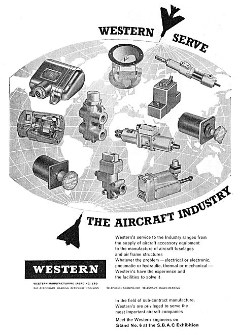 Western Manufacturing - Aircraft Engineers & Component Mfg