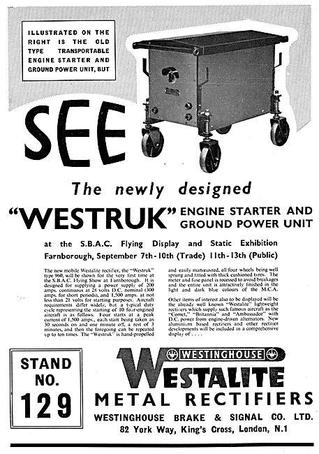 Westinghouse Brake & Signal : Westruk Rectifiers