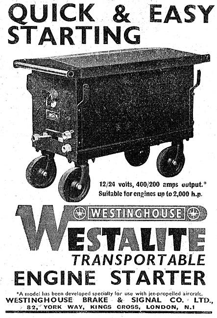 Westinghouse Engine Starters