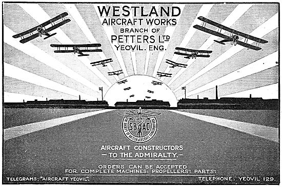 Westland - Aircraft Constructors To The Admiralty