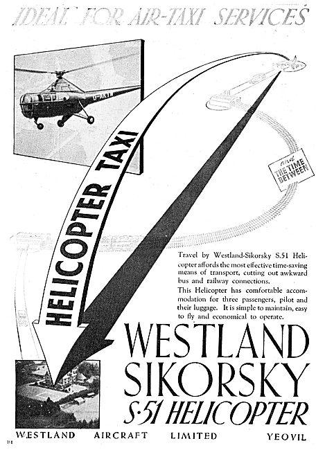 Westland-Sikorsky S51 Helicopter