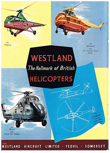 Westland Widgeon, Whirlwind, Wessex & Westminster