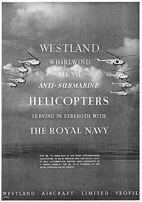 Westland Whirlwind Mk VII Anti-Submarine Helicopter