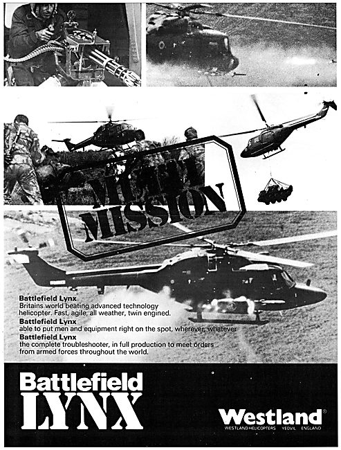 Westland Battlefield Lynx