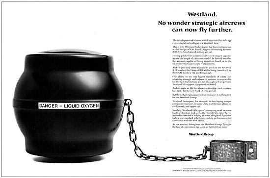 Westland On Board Oxygen Generating System