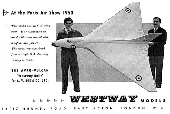 Westway Aircraft Models For Display & Development